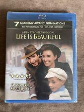 New listing Life Is Beautiful (Blu-ray, Oop, Triple Oscar Winner)