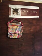 New With Tags Messenger Bag AphOrism Floral (anthropologie)