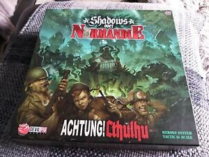 Shadows over Normandie Game with Cthulhu Expansion #1 - Mint Condition