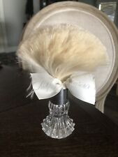 vintage Lady Primrose Dallas London Crystal Dusting Powder Brush