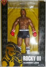 """CLUBBER LANG BLACK TRUNKS Rocky III 40th Anniversary 7"""" Action Figure Neca 2016"""