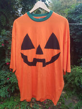 Asos Adult Spooky Pumpkin Halloween T Shirt in Size Medium