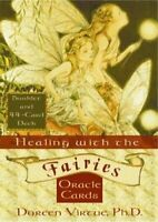 Healing With The Fairies Oracle Cards: Heal Your ... by Virtue PhD, Doreen Cards