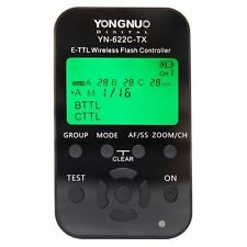 YONGNUO YN622C Wireless E-TTL Flash Trigger Transceiver for Canon - 2 Pcs