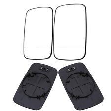 Pair Side Mirror Glass For BMW E39/E46 320i 330i 325i 525i White Heated LH/RH
