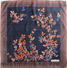 -Superbe Foulard  CHRISTIAN DIOR   100% soie  TBEG  vintage scarf  77 x 78 cm