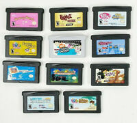 Lot of 9 Game Boy Advance Games - Monster Rancher, Polly, Bratz, Mary Kate & Ash