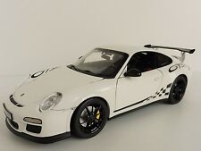 PORSCHE 911 GT3 RS 2010 2010 WHITE 1/18 Norev 187561 997 GT 3 Weiß