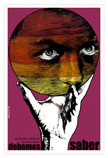 "Movie Poster 4 film""Debemos saber""Mystic BALL art.Magic.Mystical art.Cerebral"