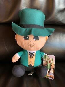 "THE WIZARD FROM WIZARD OF OZ 12"" NWT BIG HEAD Warner Brothers by TOY Factory"