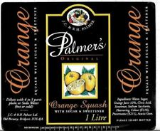 ENGLAND,UK JC&RH Palmer,Old Brewery,Bridport Orange 1L beer label C1715 013