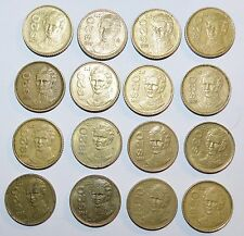 MEXICO lot 20 PESOS vintage world D foreign Mexican 16 COINS