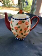 Mary Engelbreit Teapot Coin Bank