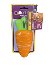 Multipet Ruff Enuff Carrot Squeaky Dog Toy
