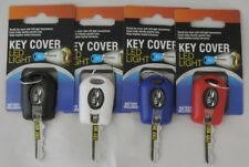 2 LED Bright Light Key Cover Keychain Torch Flashlight Keyring Case Cap New
