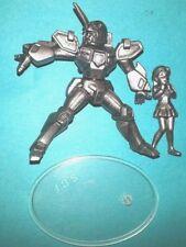 TRANSFORMERS Heroes of Cyberton PVC pewter METALHAWK & MINELBA - SCF / HOC