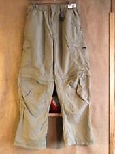 REI UPF 30+ boys convertible pant short size Juniors XL (16-18)  nylon beige ela