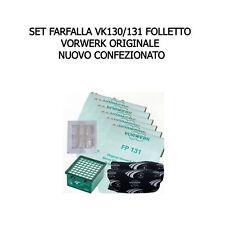 Set Tubo scanalatura-Imbottitura-ugello adatto per Vorwerk Folletto 130 131 135 136 140