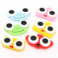 Owl Bear Frog Contact Lens Solution Soak Box Storage Case Holder Portable Unique