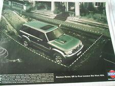 Publicté Advertising 1998 Nissan Patrol GR 4 x 4