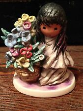 GOEBEL W.GERMANY DE GRAZIA FLOWERS FOR MOTHER 1989 COLLECTIBLE FIGURINE 8990