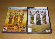 Jeu Windows PC strategie  - Age of empires 3 III + ext the war chiefs (Complet)