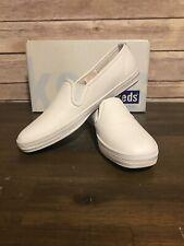 Keds Champion Leather Slip On Vintage White New Size 6 S (narrow)