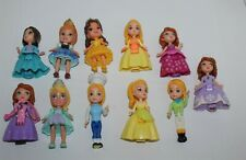 Disney Princess Sofia & Disney Princess Mini Figures Bulk Lot 3""