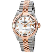 Rolex Lady Datejust Mother of Pearl Diamond Steel and 18K Everose Gold Jubilee