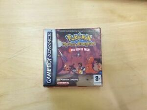 Pokemon Mystery Dungeon Red Rescue Team For Nintendo Game Boy Advance GBA