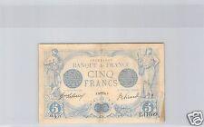 FRANCE 5 FRANCS BLEU 29 AVRIL 1916 ALPHABET E.11609 !!!!