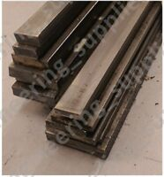 Bright Mild Steel Flat Bar 10, 12, 16, 20, 25mm Wide 3, 5, 6, 10mm Thick