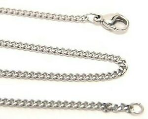 Hypoallergenic Curb Chain 316L Surgical Steel 20 Inches