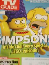 The Simpsons Special Lego Episode Tv Guide April 2014 Religious Tv