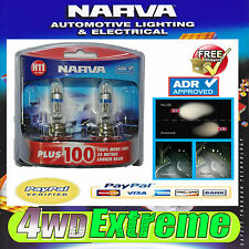 NARVA H11 GLOBES PLUS 100 COMMODORE VE BULB 12V 55W 48349BL2 LIGHTS HEADLIGHTS