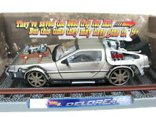 DeLorean Back To The Future III Movie Car 1/18 RailRoad