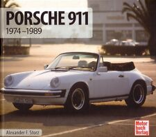 Illustrated Book Schrader Type Chronik Porsche 911 G-model 930 Turbo SC