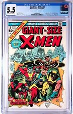 Giant Size X-Men 1 CGC 5.5 1975 First appearance of the new X-Men NR Auction
