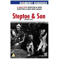 STEPTOE DOUBLE BILL - STEPTOE AND SON / STEPTOE AND SON RIDE AGAIN  - NEW DVD