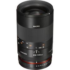 Samyang 100mm F2.8 ED UMC Telephoto Macro Lens: Canon EF Mount CA3938