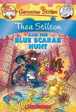 Thea Stilton and the Blue Scarab Hunt (Thea Stilton #11): A Geronimo Stilton ...
