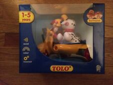 Tolo Toys First Friends 89587 Pre-School Push Along Scooter New in Box!