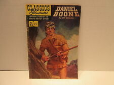 Classic Illustrated Comic Book Stories # 96 1952 First Printing Daniel Boone
