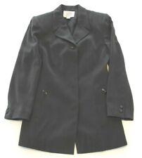 VALERIE STEVENS PETITES Women's 6P Gray 100% Polyester Lined Jacket (q)