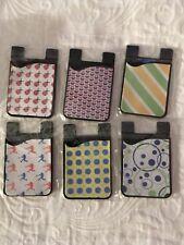 New listing $5 Each Custom Cell Phone Card Caddy, Card Holder, Id Holder,Credit Card Holder