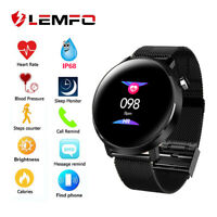 LEMFO Smart Watch Bluetooth Waterproof Heart Rate Sports Watch For Android iOS