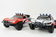 1:18 4WD 2.4G High Speed 40KM/H Radio Control RC Electric Off Road Car Truck Led