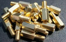 eXXtreme CPU (M3) Brass Motherboard Mounting screws 8mm/6mm - 20 Pack