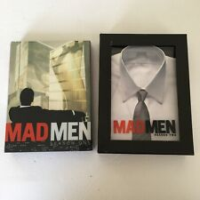 Mad Men Dvd Season 1 & 2 Tested Works All Disc & Papers Included Shelf Wear Only