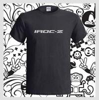 Chevrolet Camaro IROC-Z Logo Car Z28 WS9 Men's Black T-Shirt S M L XL 2XL 3XL
